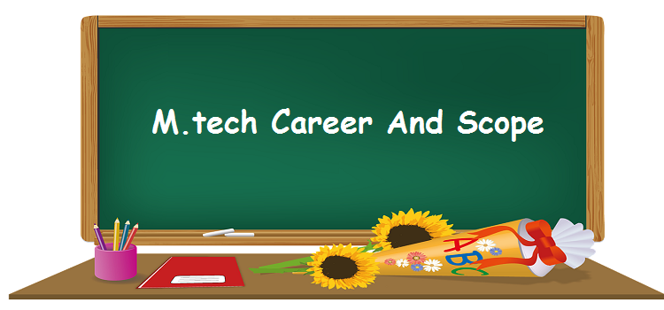mtech scope in india