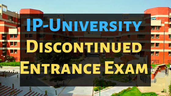 ggsipu entrance exam update
