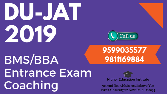 bba/bms entrance exam coaching